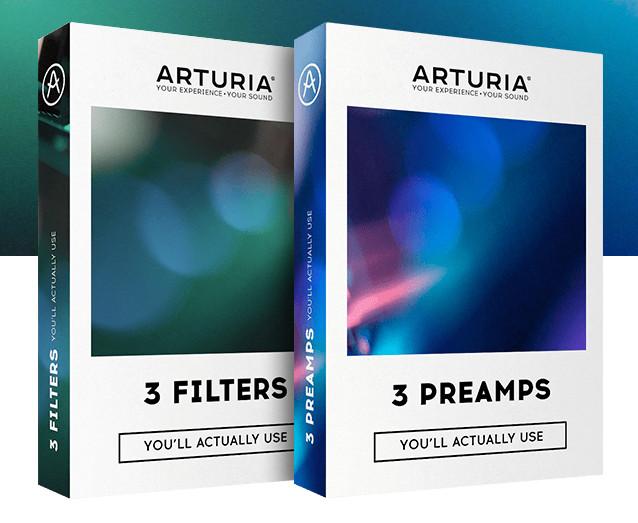 Arturia发布6个插件和2个捆绑软件包