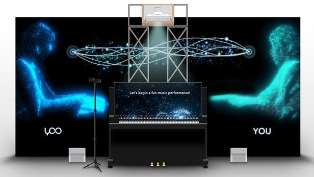 """雅马哈SXSW上展示AI钢琴系统:能与人类""""完美""""二重奏"""