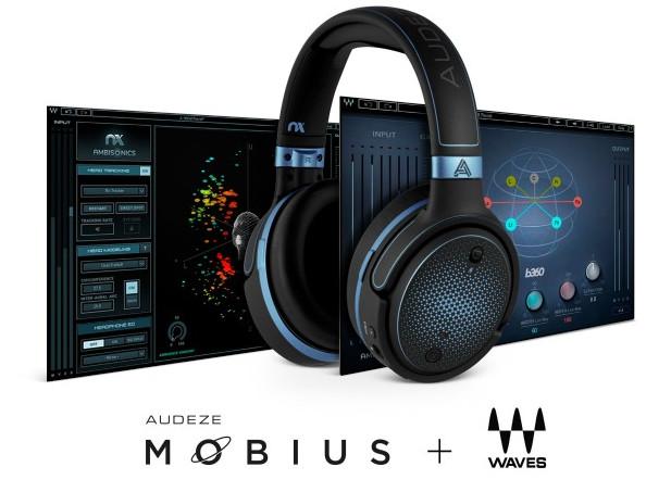 采用Waves技术的3D音频耳机:Audeze Mobius