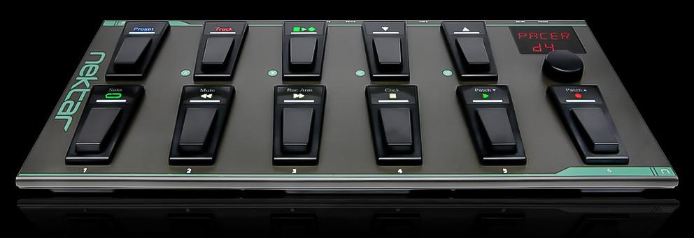 Nektar 发布MIDI脚踏控制器:Nektar PACER
