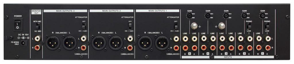 TASCAM 发布机架模拟调音台 MZ-223 和 MZ-372