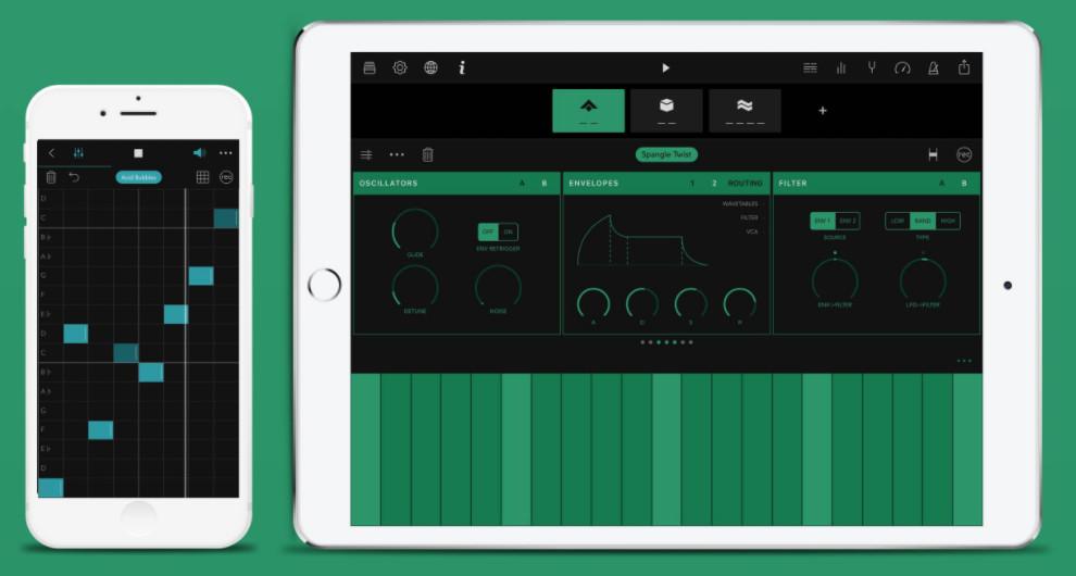 Novation推出可以连接Launchkey Mini键盘控制器的iOS Groovebox应用