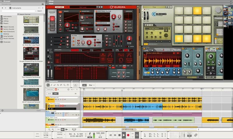 Propellerhead 发布 Reason 10 体验版