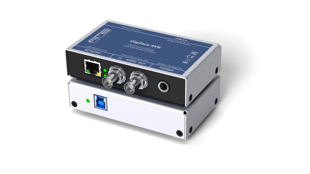 RME 亮相两款新音频接口:Digiface Dante 和 Digiface AVB