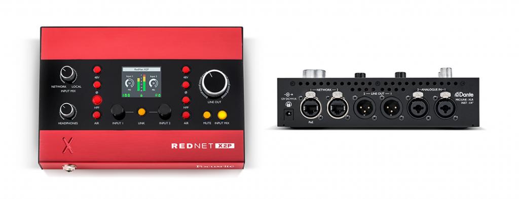 法兰克福 2018展会新闻:Focusrite 发布网络音频接口 Rednet X2P