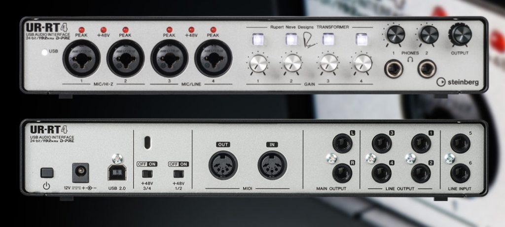 法兰克福 2018展会新闻:Steinberg推出两款高端音频接口 UR-RT2 和 UR-RT4