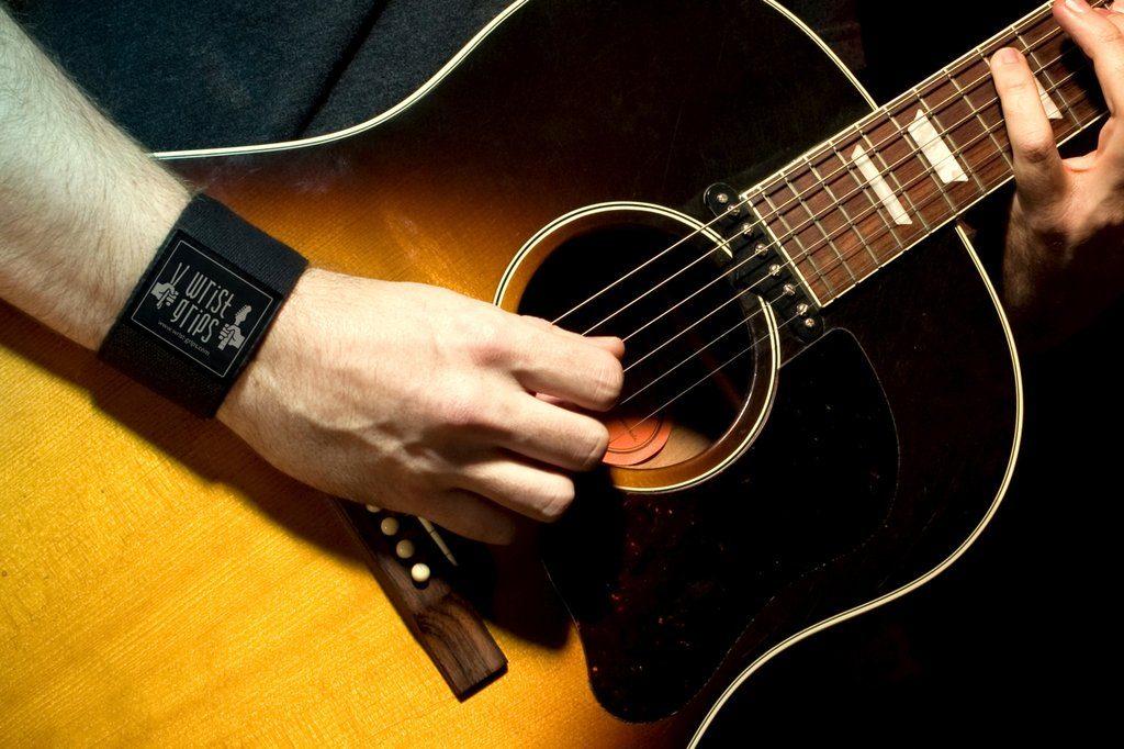 WristGrips护腕:吉他手、鼓手和键盘手必备神器