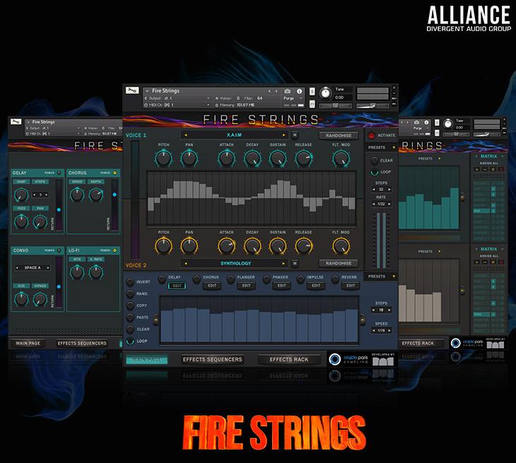 高达6GB的 Fire Strings(火焰琴弦)电影声音音色库发布
