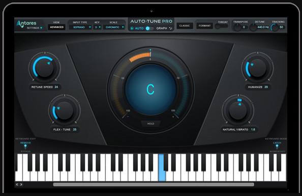 专业的人声处理工具 Auto-Tune Pro 现已上市(视频)