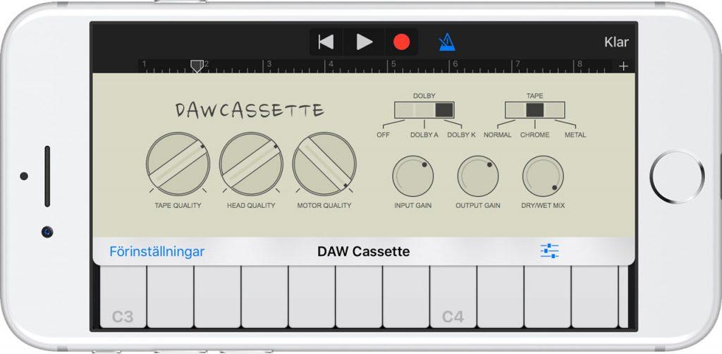 DAW Cassette,可以模拟老式磁带卡座的仿真插件