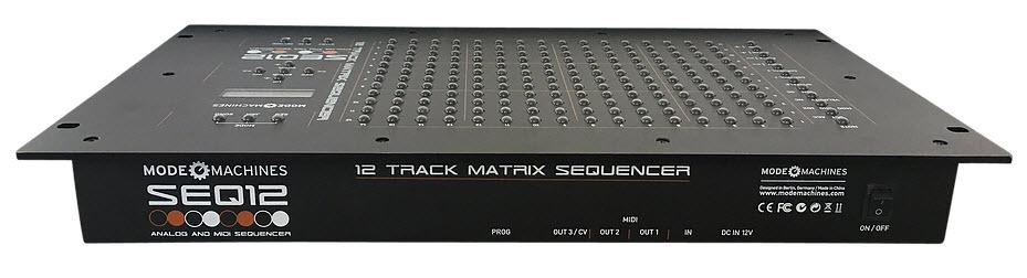 Mode Machines 发布12音轨MIDI矩阵音序器(视频)