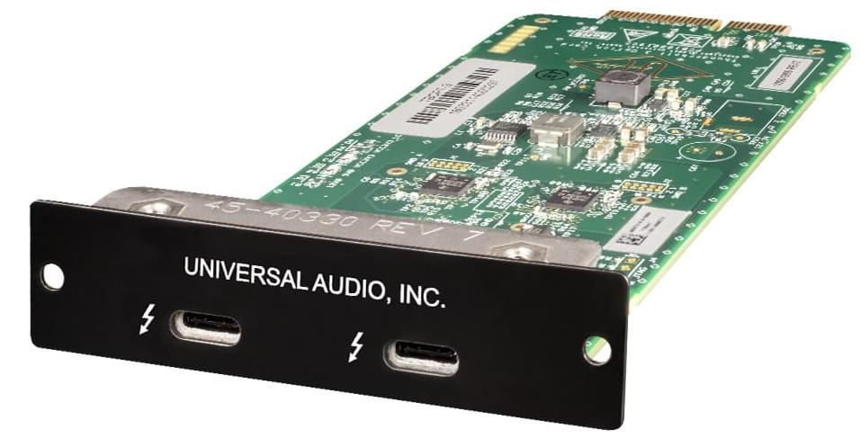 Universal Audio发布用于Apollo音频接口的雷电(Thunderbolt)3扩展卡