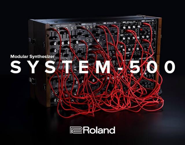 Roland介绍新的SYSTEM-500模块化合成器,继续丰富Eurorack合成器模块