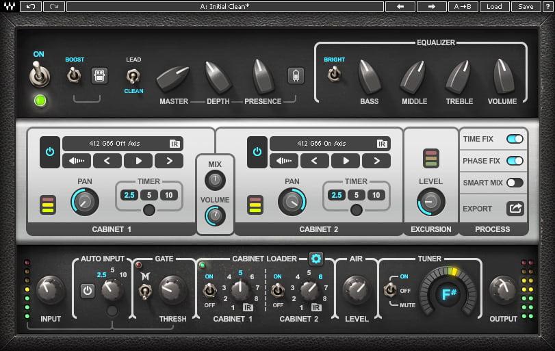 Waves 发布 PRS SuperModels 吉他放大器模拟插件(视频)