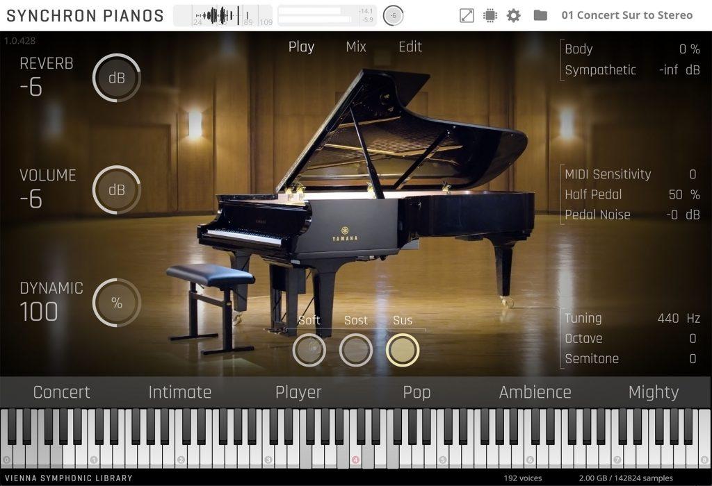 VSL(维也纳交响乐音色库) 发布 YAMAHA CFX 三角大钢琴采样库(视频)