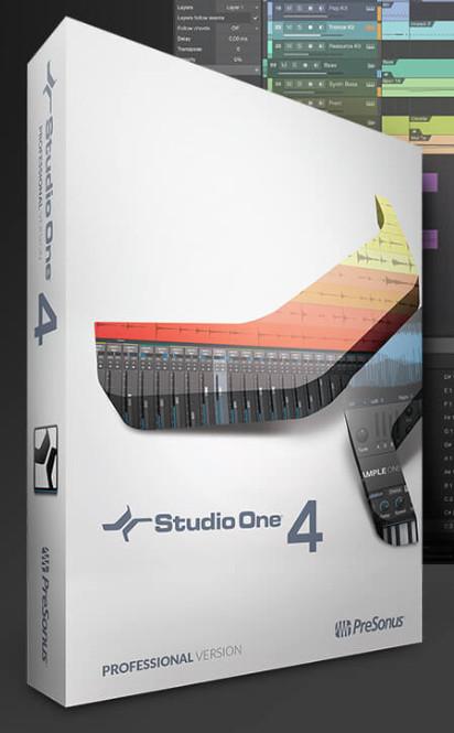Presonus 发布新版音乐制作工作站DAW软件:Studio One 4(视频)