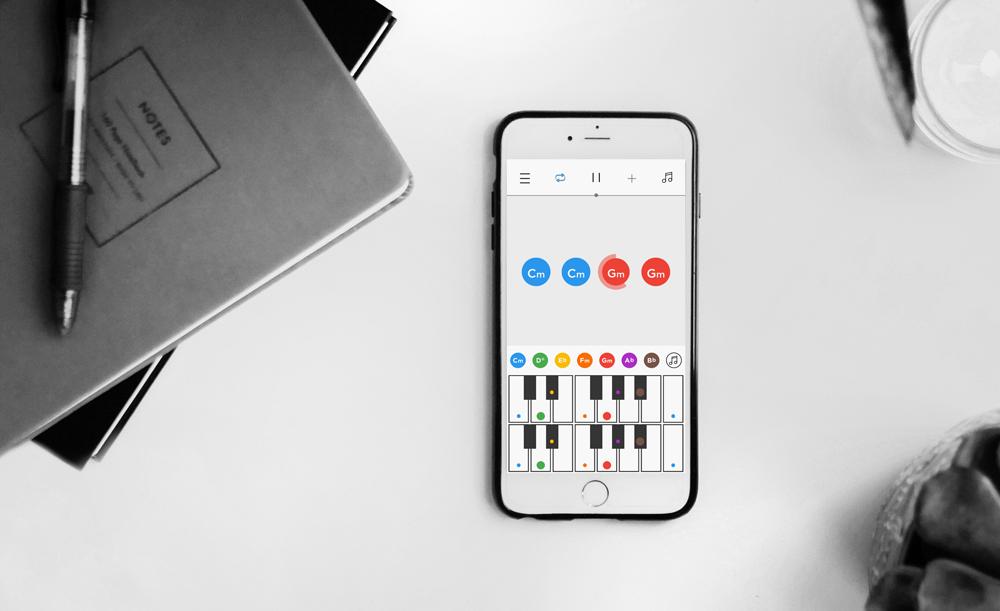 Jamsy,一款iPhone移动应用,使音乐创作变得更简单