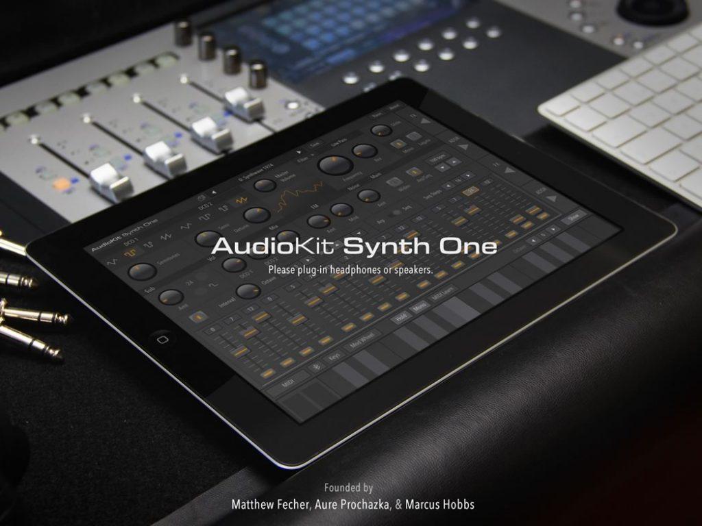 AudioKit Synth One:第一款专业的开源 iPad 合成器(视频)