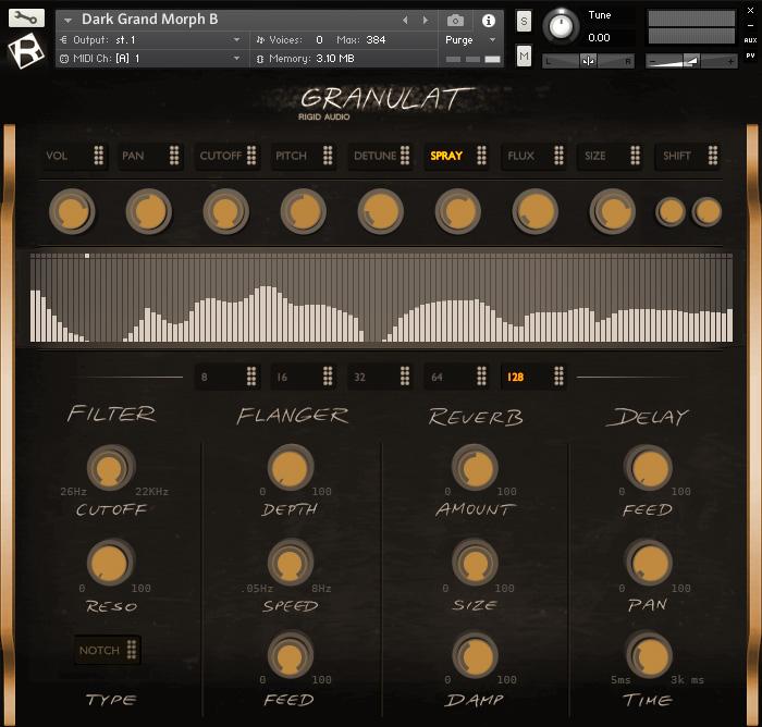 Rigid Audio 发布最新的电影音效设计工具 GRANULAT(视频)