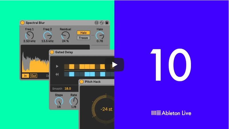 Ableton发布Live 10创意扩展包(视频)