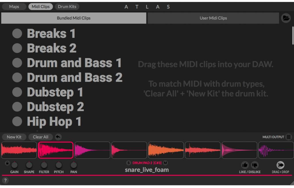 Atlas - 使用人工智能制作节奏的音乐插件(视频)