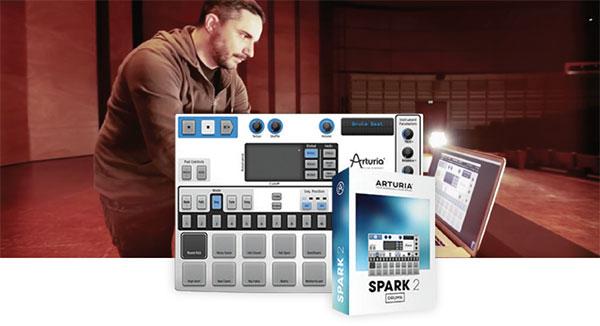 ARTURIA 发布软件节拍创作套件 SPARK 2.4 版更新