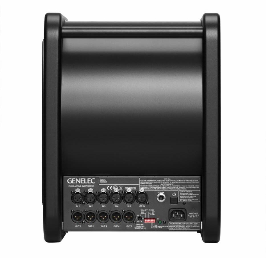 Genelec(真力)推出7050C,升级经典的低音炮监听音箱