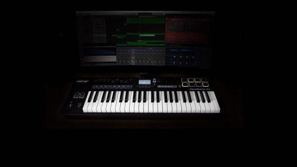 Nektar 推出全新的 Panorama T 系列MIDI键盘控制器