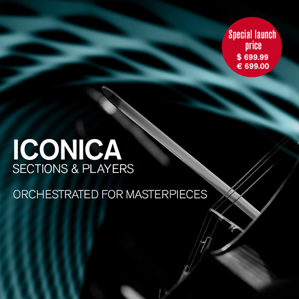 Steinberg 发布高达150GB的管弦乐音色库 Iconica Sections & Players