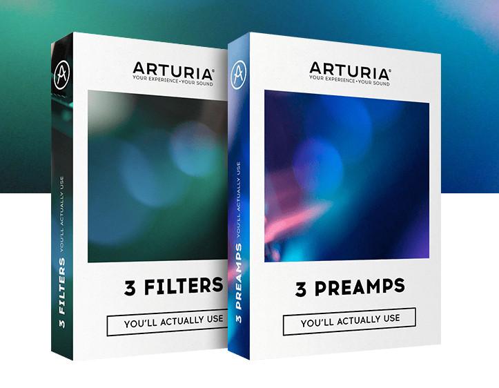 ARTURIA 软件效果的最新更新现在兼容NKS