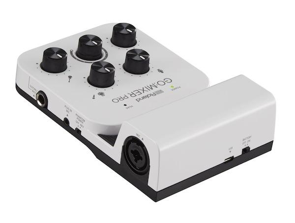 Roland 推出 GO:MIXER PRO智能手机音频调音台和Virtual Stage Camera(虚拟舞台相机)应用