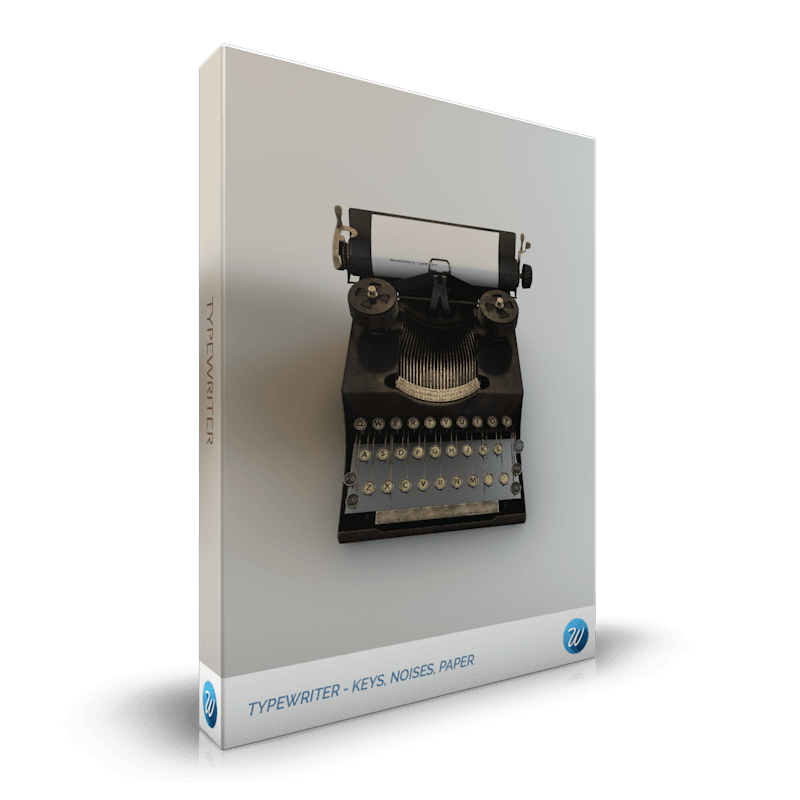 Wavesfactory 发布 TYPEWRITER(打字机)免费Kontakt乐器(视频)
