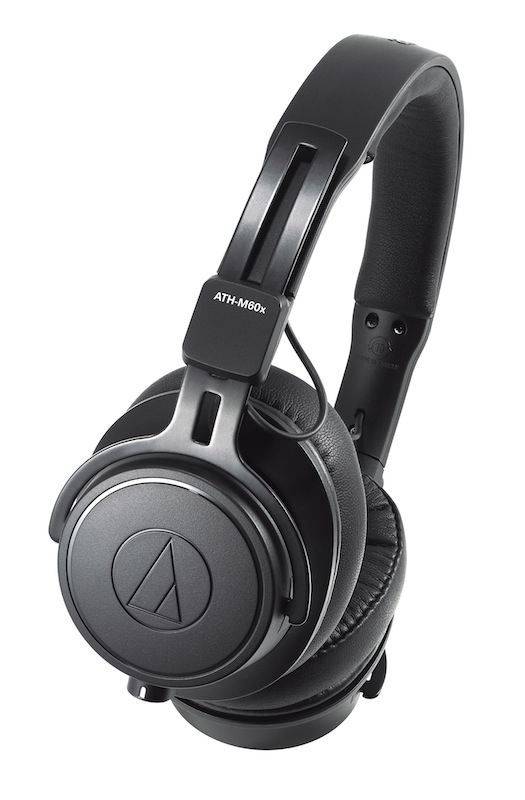 Audio-Technica(铁三角)发布 ATH-M60x 头戴式专业监听耳机