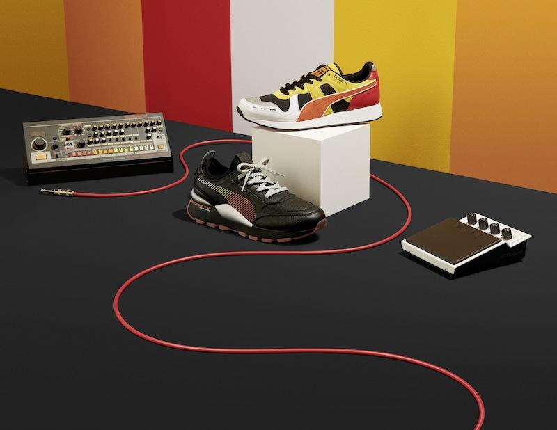 Roland(罗兰)和PUMA(彪马)推出第2款受808鼓机启发的PUMA运动鞋