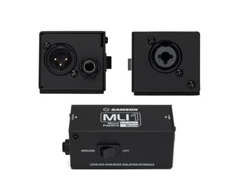 Samson(山逊)发布可消除噪音的单声道无源隔离盒 MLI1