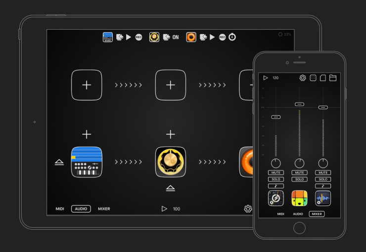 Audiobus升级到3.3版,带有强大的MIDI学习功能(视频)