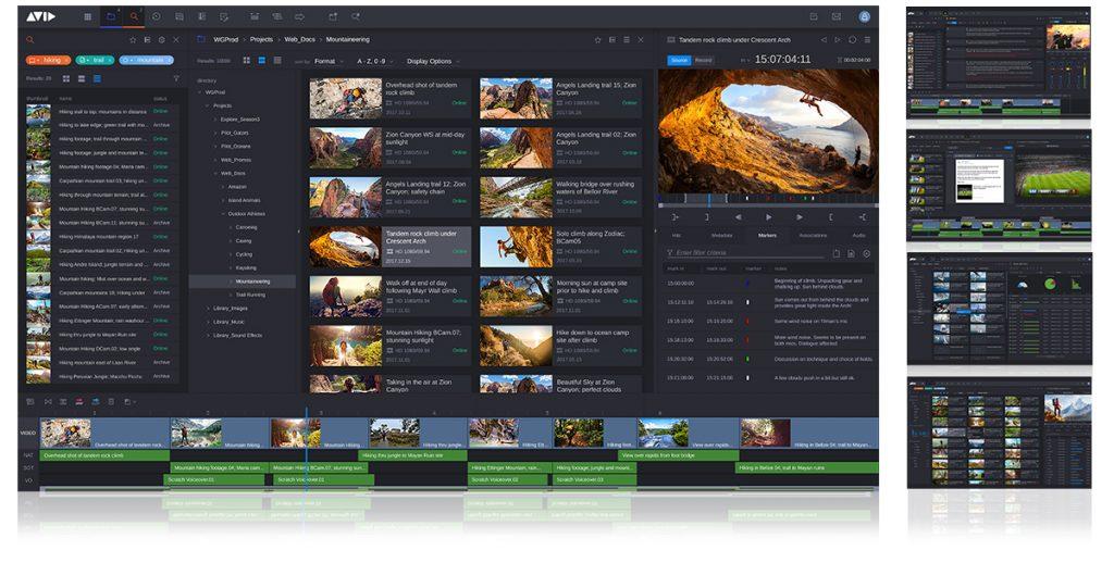 Avid 发布强大的新一代 MediaCentral 媒体协作平台