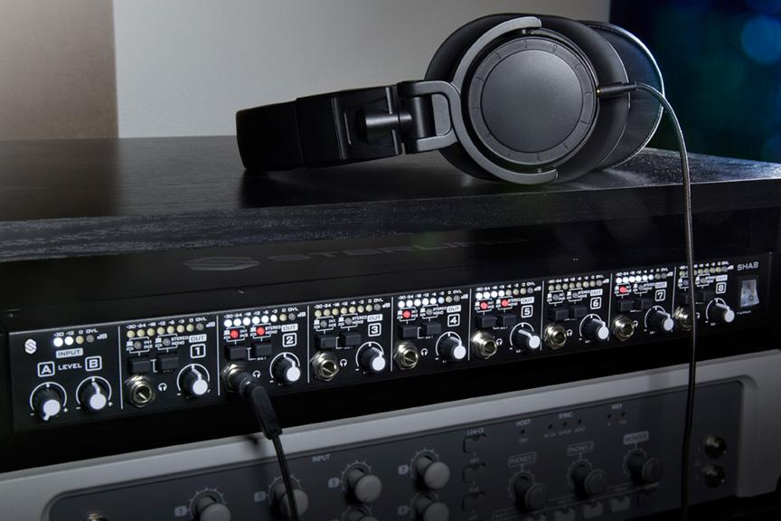 Sterling Audio 发布 SHA4 和 SHA8 双源耳机放大器