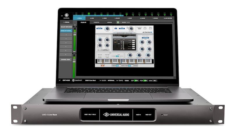 Universal Audio 发布 UAD-2 Live Rack MADI 效果处理器