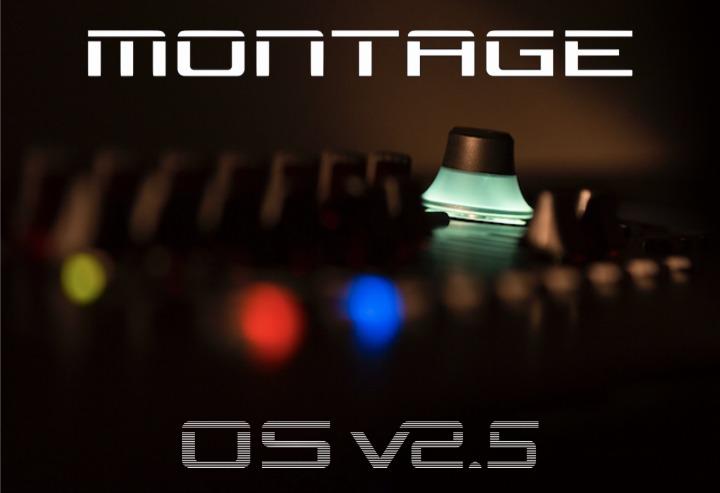 YAMAHA(雅马哈)的Montage(蒙太奇)旗舰合成器又一次系统大更新