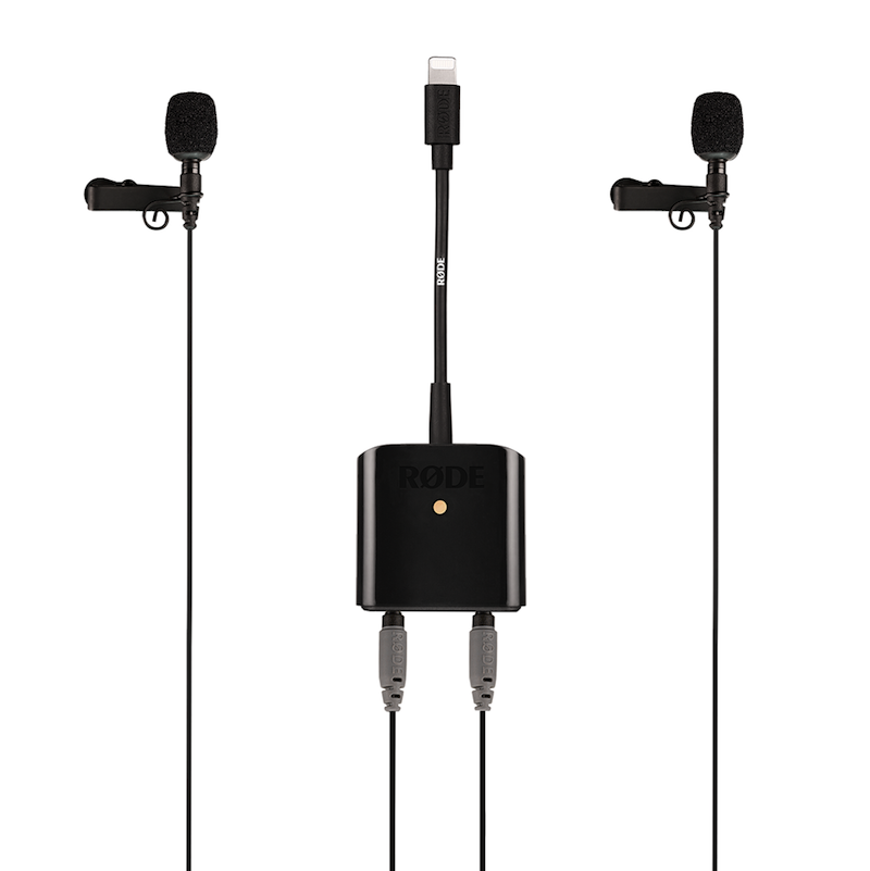 RØDE发布用于IOS系统的移动采访套装