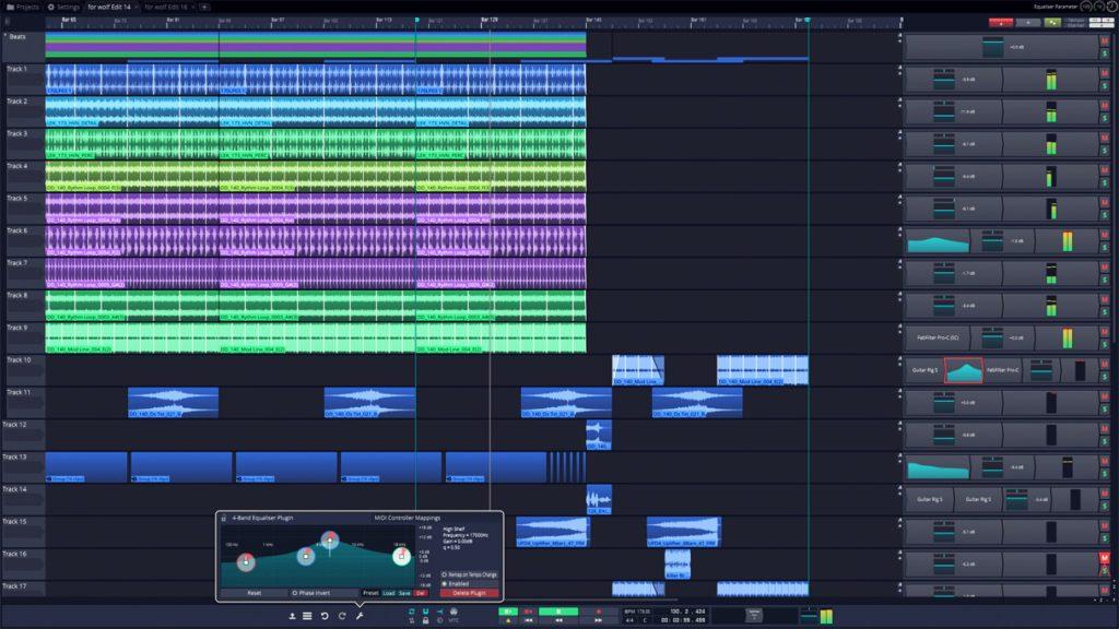 大型福利:Tracktion T7 数字音频工作站软件变成免费软件了,功能不缩水(视频)
