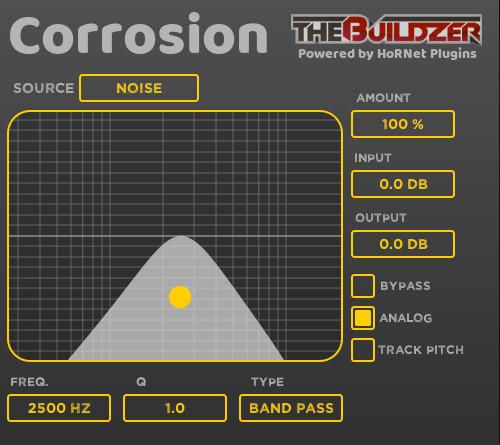 Corrosion(腐蚀)音效插件,用令人讨厌的方式添加颗粒感和失真效果