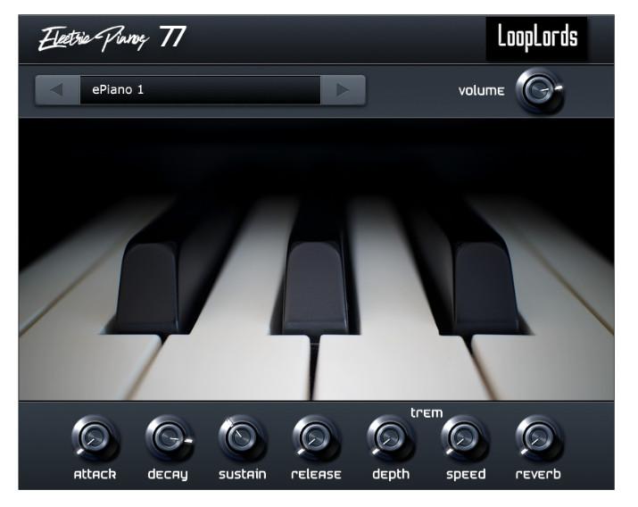 LoopLords 发布 Electric Pianos 77 电钢琴插件