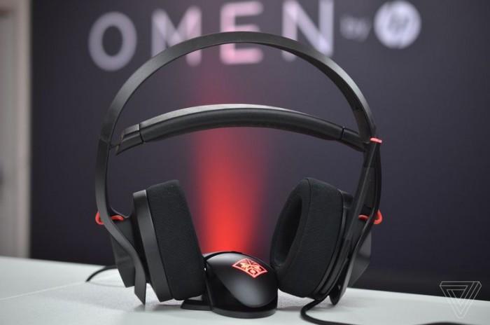 惠普在科隆游戏展期间展示耳冷技术Omen Mindframe耳机