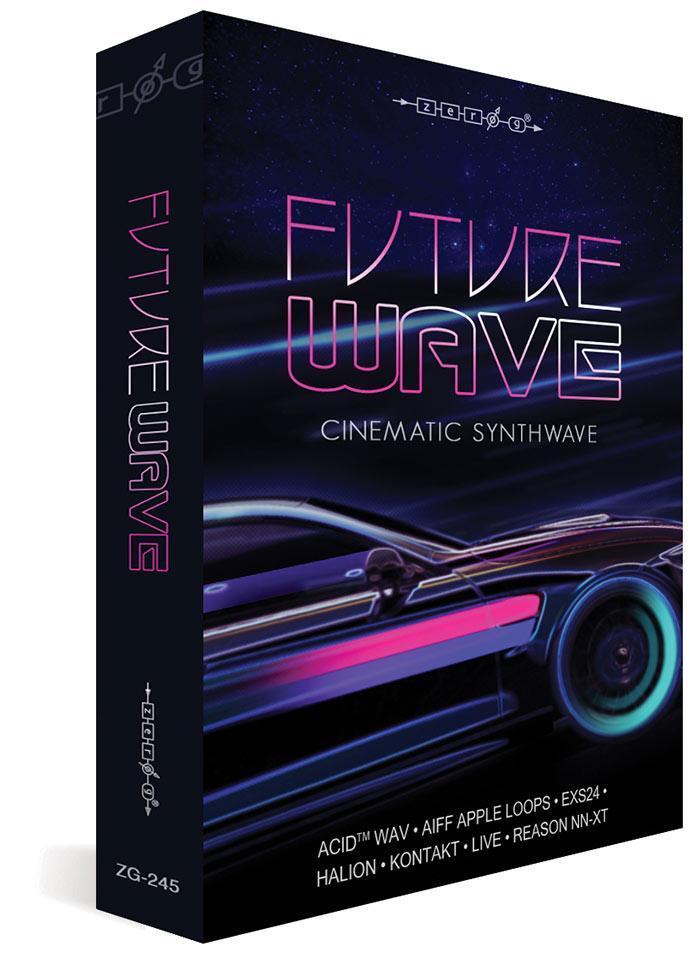 Zero-G 发布 Future Wave 采样音效库