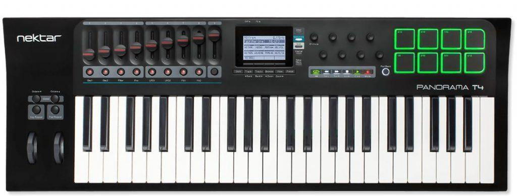 全新的音乐助力 — Nektar T 系列 MIDI 键盘控制器震撼上市