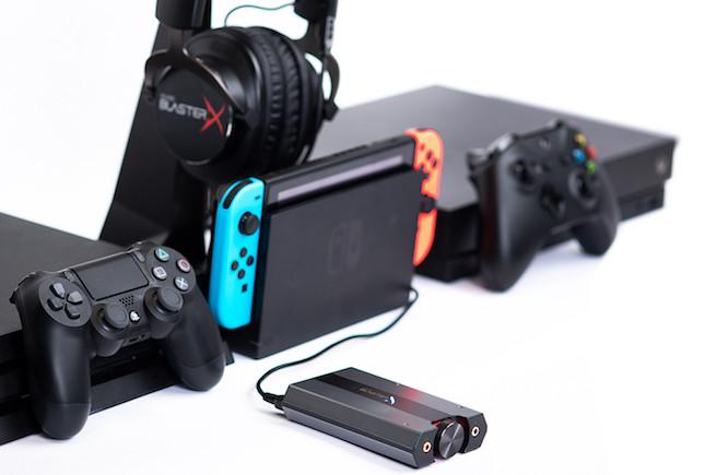 Creative推出适用于PC和游戏机的USB声卡