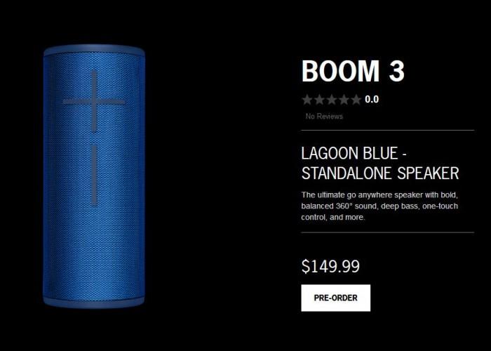 大胶条不见了:UE Boom 3和MegaBoom 3正式发布