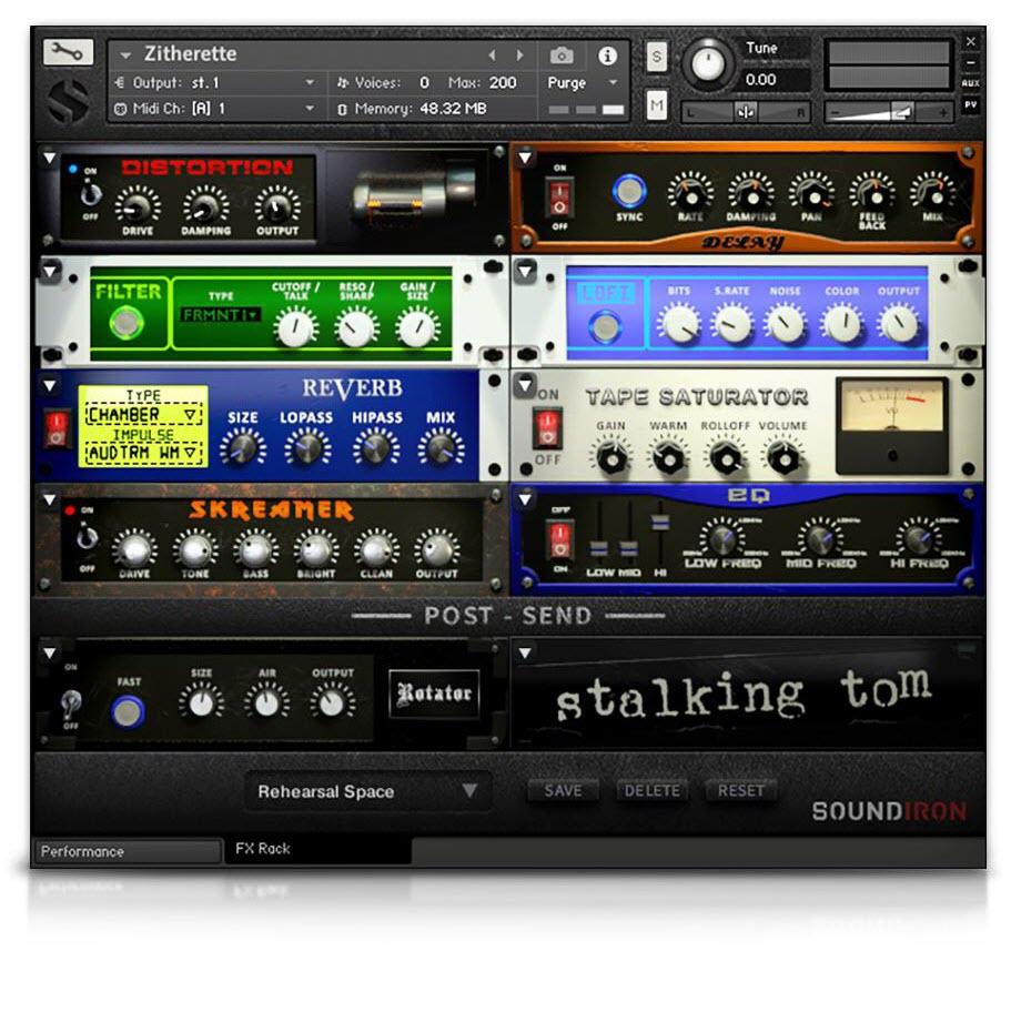 Soundiron发布Zitherette 2.0,用于Kontakt下的古筝乐器(视频)